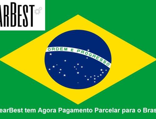 GearBest tem agora Pagamento Parcelado para o Brasil